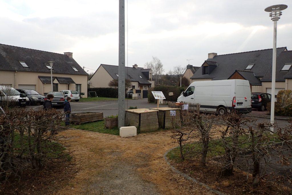 Rue de la rigolle aire n 373 bruz vert le jardin for Jardin 122 rue des poissonniers